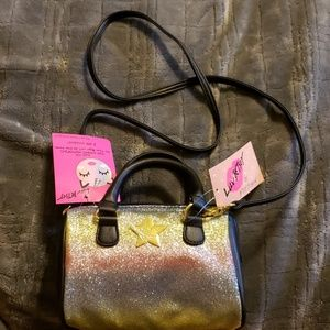 NWT Betsey Johnson Rainbow cross body